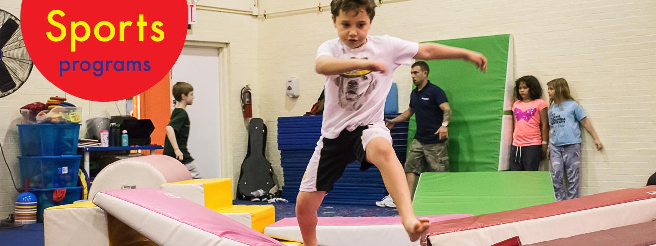 Sports and Parkour for kids on Upper Westside