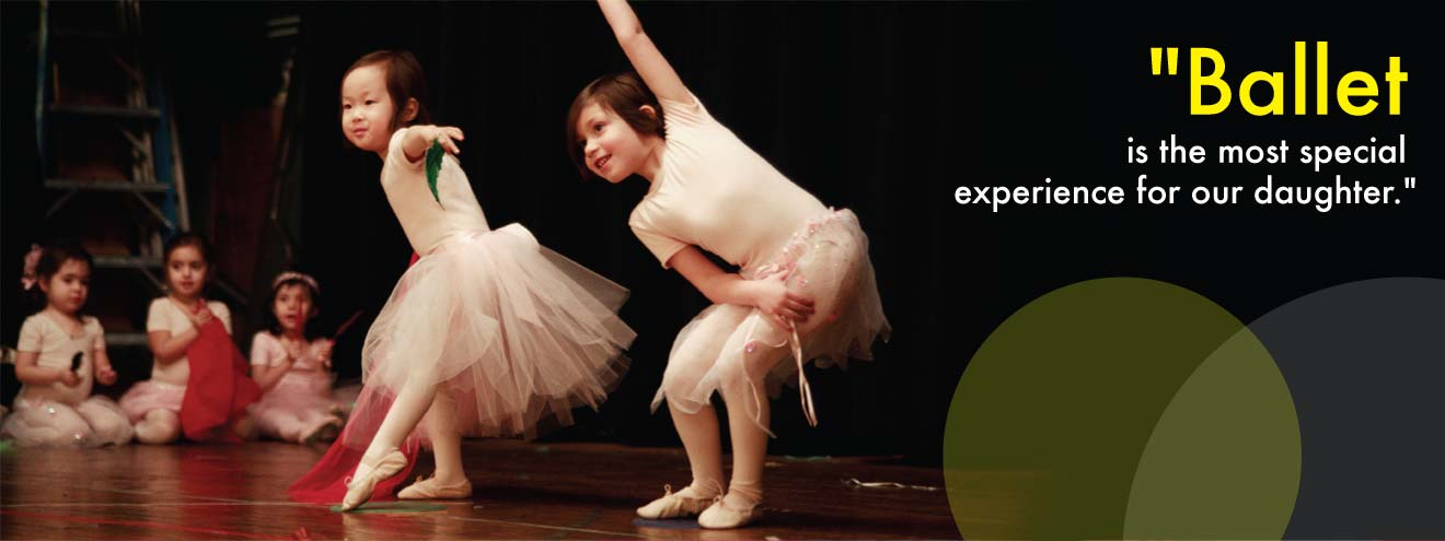 Ballet lessons for kids in New York City