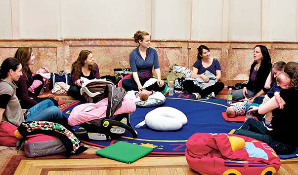 New Moms Support Group – new mom & baby class