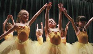 Ballet classes for children in New York City Upper West Side