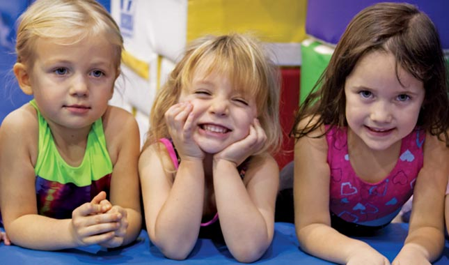 Recreational Gym - gymnastics program for kids