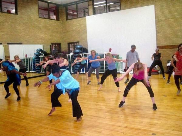 Afro Jazz dance class