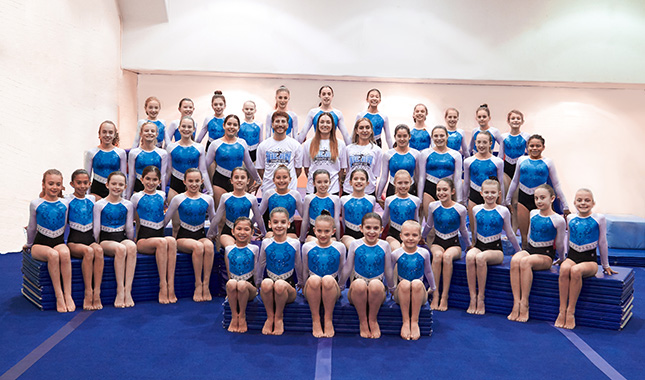 Training for the United States Association of Independent Gymnastics Club USAIGC in NYC